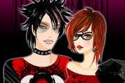 Emo Couple Dress Up Games – Love Games