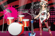 Emo Games – Emo Singer Dress Up Game