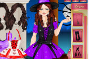 Little Witch Dress Up Games