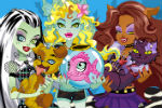 Monster High Životinje – Monster High Igre