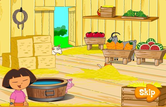 Igra Dora Istražuje Farma Igrica