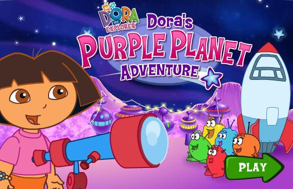Igra Dora Istražuje Ljubičasti Planet Igrica