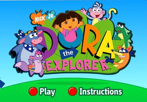 Igra Dora Istražuje sakriveni predmeti Igrica