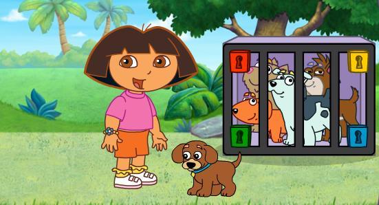 Igra Dora Istražuje Pas Igrica