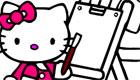 Bojanje Hello Kitty Bojanka Igre za Djevojčice
