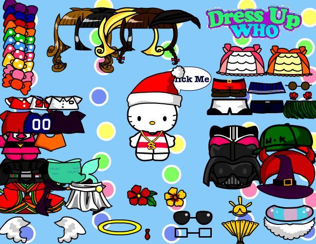 Obuci Hello Kitty Oblačenje Igre za Djevojčice