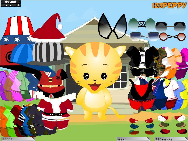 Hello Kitty Oblačenje Igre za Djevojčice