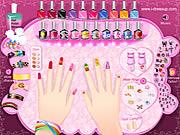 Manikura Noktiju Makeover Igre za Djevojčice