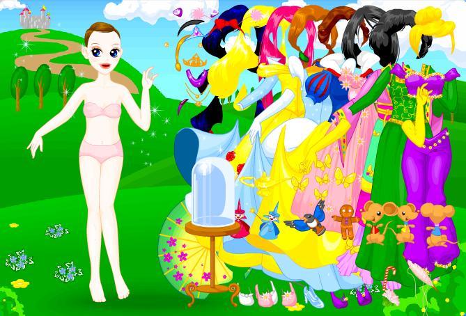 Igra Disney Princeza Oblačenje Igrica