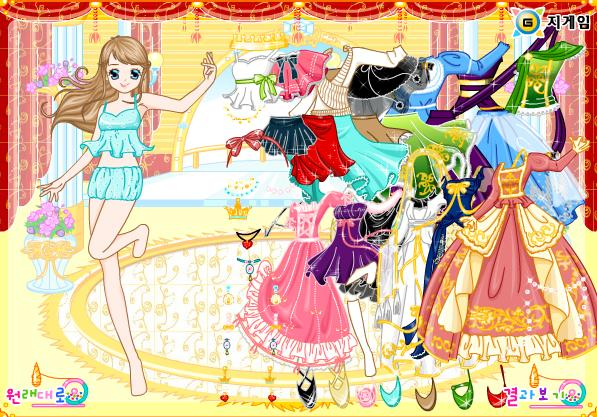 Igra Cinderella Oblačenje Igrica