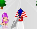 Igra Sonic Skijanje Igre za Djecu