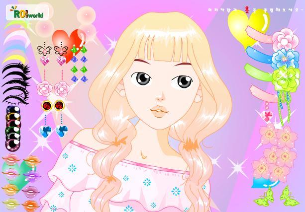 Igra Šminkanje djevojke Igrica - Igre Uljepšavanje Igrice
