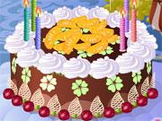 Igra Napravi ludu rođendansku Tortu Igrica Kuhanje