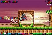 Mario Vozi Motor U Sonic Igri
