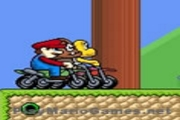 Super Mario Mini Moto Race – Motorbike Games