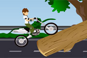 Ben 10 Biker – Motorcycle Driving Game