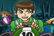 Ben 10 Kart Vožnja Karting Utrke