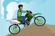 Ben 10 Motocross 2 – Motorcycle Driving Games