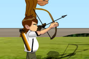Ben 10 Games – Bow And Arrow
