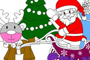Santa Claus Coloring Book – Coloring Games