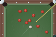 American Billiards game With The Same Balls