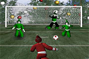Santa Claus Football Game