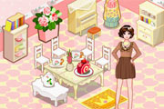 Pink Cottage – House Decoration Games