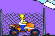 Homer Simpson Vozi Motor