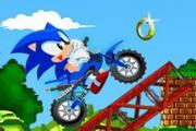 Jež Sonic vozi Kroser -Igra Vožnje Motora