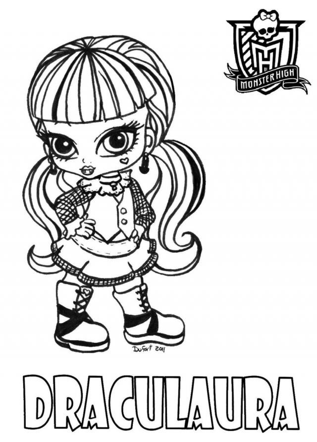 Monster High Bojanke Za Printanje Besplatne Igre Za Cure I