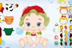 Dress Up A Baby Game