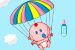 Baby Paratrooper Game – Baby Games