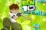 Logical Game – Ben 10 Balls