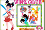 Sue Winx Coloring Game – Winx Games