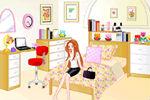 Dnevna soba dekoracija – Igre Dekoracije za Djevojčice