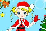 Božično Bojanje – Igre za Djevojčice