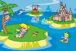Igra Otok Dekoracija Igrica