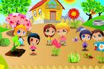 Igra Uređivanja Dječji Vrt