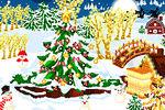 Dekoracija Zimskog prostora – Božićne Igre Dekoracije