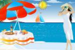 Hawaii Beach Decoration Games