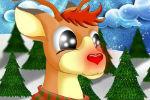 Igra Jeleni od Djeda Mraza Oblačenje Igrica