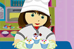 Make A Cake In A Candy Store – Cooking Games