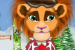 Lion Dress Up Game