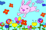 Rabbit Coloring Game