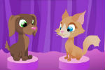 Cat and Dog Dress Up Game