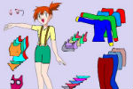 Pokemon Game – Dress Up Misty