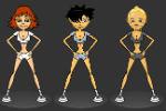 Navijačice Plesanje – Igre Plesanja