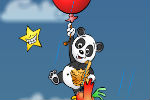 Balloons, Panda And Flying