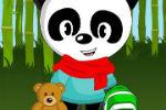 Igra Oblačenja Pande – Obuci Pandu – Igre Životinje