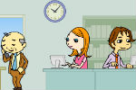 Kissing At Work – Games for Girls